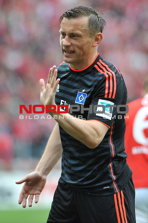 03.05.2015, cofacearena, Mainz, GER, FSV Mainz 05 vs. Hamburger SV, im Bild: Ivica Olic (#8, Hamburger SV)<br /> <br /> Foto &copy; nordphoto / Fabisch