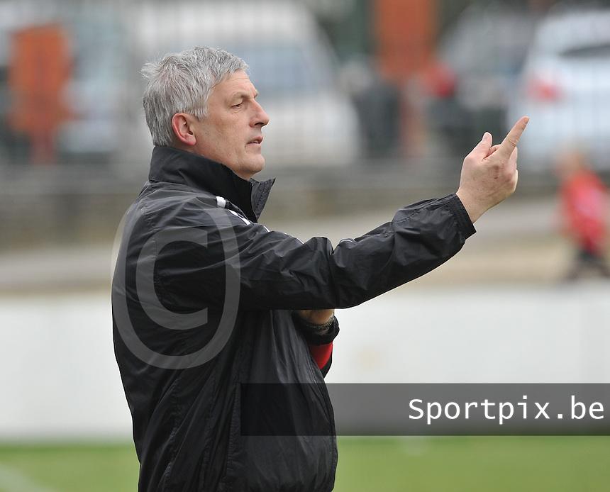 Dames Club Brugge : trainer / Coach Jean-Marie Saeremans.foto DAVID CATRY / Vrouwenteam.be