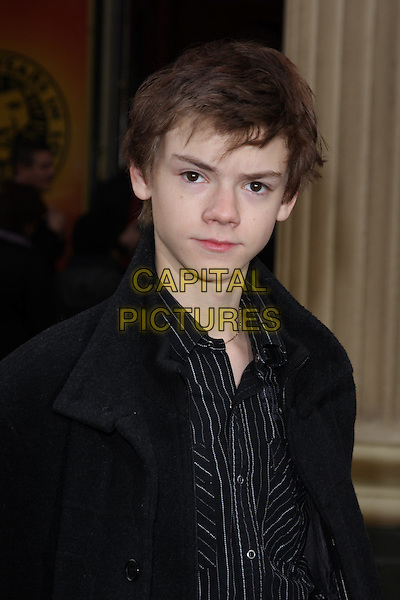 THOMAS SANGSTER .10th Anniversary Performance of 'The Lion King' at the Lyceum Theatre, London, England..October 18th 2009.headshot portrait black.CAP/ROS.©Steve Ross/Capital Pictures.