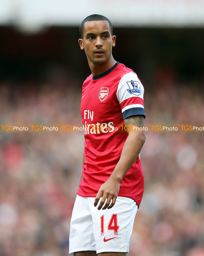 Theo Walcott of Arsenal - Arsenal vs Chelsea - Barclays Premier League at the Emirates Stadium, Arsenal 29/09/12 - MANDATORY CREDIT: Rob Newell/TGSPHOTO - Self billing applies where appropriate - 0845 094 6026 - contact@tgsphoto.co.uk - NO UNPAID USE.