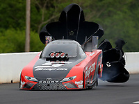 May 5, 2018; Commerce, GA, USA; NHRA funny car driver Cruz Pedregon during qualifying for the Southern Nationals at Atlanta Dragway. Mandatory Credit: Mark J. Rebilas-USA TODAY Sports