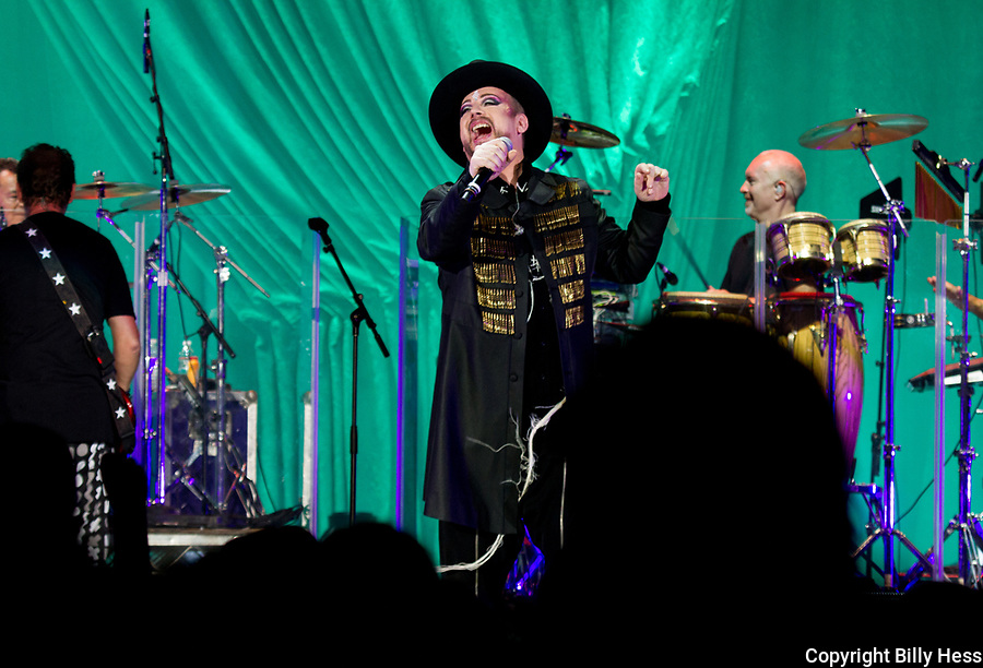 Boy George and the Culture Club US Tour Boy George and The Culture Club at Forrest Hills Stadium NY