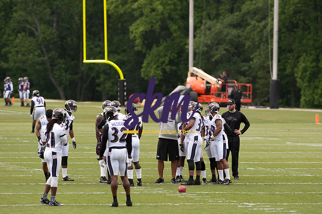 The Ravens begin mandatory mini camps Tuesday afternoon at Under Armour Performance Center in Owings Mills.