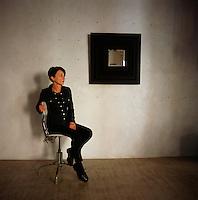 A portrait of Cecile Chappuis.