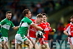 Cian Ó Murchu West Kerry in action against Denis Sheahan Legion in the Quarter Final of the Kerry Senior County Championship at Austin Stack Park on Sunday.