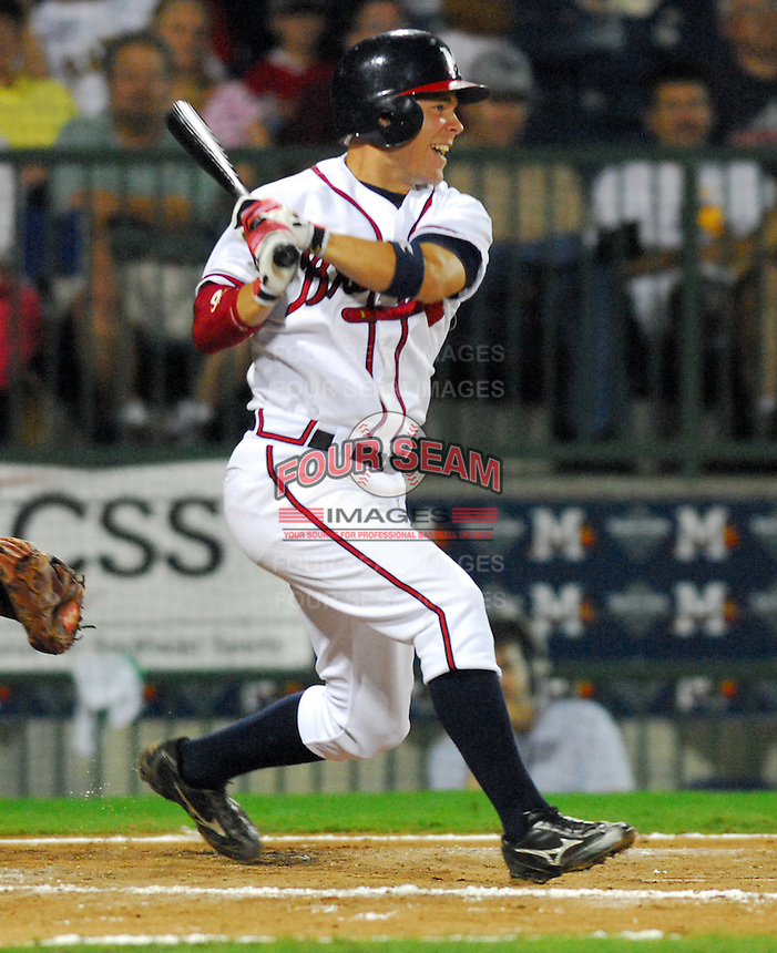 09 July 2007: J.C. Holt from the 2007 Southern League All-Star Game sponsored by the Mississippi Braves, the Atlanta Braves' Class AA affiliate in Pearl, Miss.