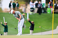 Alex Noren (SWE) on the 2nd green during the 3rd round of the Waste Management Phoenix Open, TPC Scottsdale, Scottsdale, Arisona, USA. 02/02/2019.<br /> Picture Fran Caffrey / Golffile.ie<br /> <br /> All photo usage must carry mandatory copyright credit (© Golffile | Fran Caffrey)