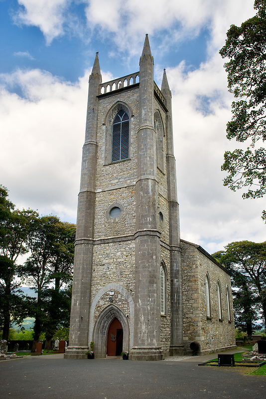 St. Columba's Church, Church of Ireland, Drumcliffe. Where William Butler Yeats is burried. Ireland