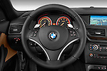 Steering wheel view of a 2012 Bmw X1 xDrive20d 5 Door Suv 2WD