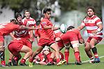 NELSON, NEW ZEALAND - March 23: E'Stel Tasman Trophy Waimea v Stoke at Trafalgar Park on March 23 2018 in Nelson, New Zealand. (Photo by: Evan Barnes Shuttersport Limited)
