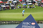 SINGAPORE - MARCH 08:  Katherine Hull of Australia on the par tree 8th hole during the final round of HSBC Women's Champions at the Tanah Merah Country Club on March 8, 2009 in Singapore.  Photo by Victor Fraile / The Power of Sport Images