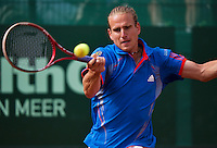 11-07-13, Netherlands, Scheveningen,  Mets, Tennis, Sport1 Open, day four,Peter Gojowczyk (GER)<br /> <br /> <br /> Photo: Henk Koster