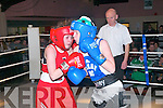 Trojan Boxing Club Show: Exchanging blows in the Trojan Boxing Club Show at Tomasin's Bar, Liselton on Saturday last were Philly Hickey, Trojan Boxing, Listowel & Shauna Blaney, Navan.