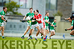 Jason Hickson West Kerry in action against  Legion in the Quarter Final of the Kerry Senior County Championship at Austin Stack Park on Sunday.