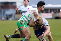 The Manawatu v Bay Of Plenty spell of the Game of Three Halves pre-season rugby match at Taihape Domain in Taihape, New Zealand on Friday, 27 July 2018. Photo: Dave Lintott / lintottphoto.co.nz