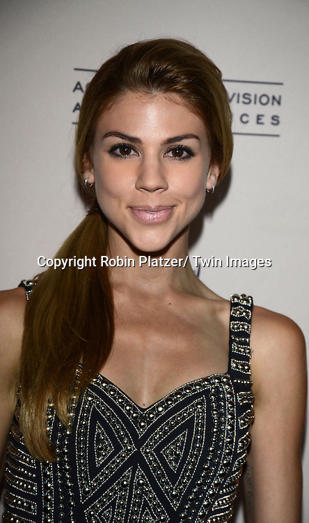 Kate Mansi attends the Academy Of Television Arts & Science Daytime Programming  Peer Group Celebration for the 40th Annual Daytime Emmy Awards Nominees party on June 13, 2013 at the Montage Beverly Hills in Beverly Hills, California.