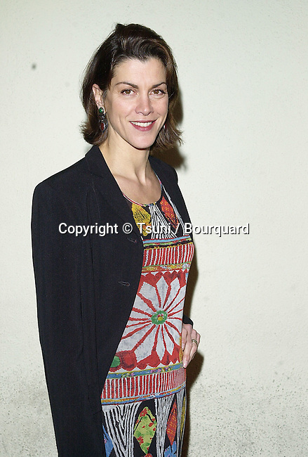 """Wendie Malick arriving at the party for the 100th episode of """" Just Shot Me """" at the Sunset Room in Los Angeles  3/5/01   © Tsuni          -            MalickWendie14.jpg"""