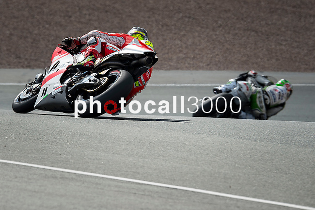 The Rider of motoGP Cal Crutchlow during the qualifying practice of Grand Prix Sachsenring in Germany. 12/072014. Samuel de Roman / Photocall3000.