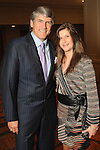 Mike Plank and his daughter Kendall at the 2010 Best Dressed Luncheon and Neiman Marcus Fashion show at the Westin Galleria Hotel Wednesday March 31,2010. (Dave Rossman Photo)
