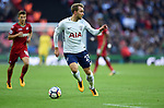 Christian Eriksen of Tottenham Hotspur during the premier league match at the Wembley Stadium, London. Picture date 16th September 2017. Picture credit should read: Robin Parker/Sportimage