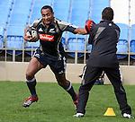 Joe Rokocoko at All Blacks training. Auckland, Wednesday 22 August 2007.