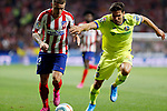 Atletico de Madrid's Kieran Trippier and Getafe CF's Leandro Cabrera during La Liga match. Aug 18, 2019. (ALTERPHOTOS/Manu R.B.)Atletico de Madrid's Kieran Trippier and Getafe CF's Leandro Cabrera competes for the ball during the Spanish La Liga match between Atletico de Madrid and Getafe CF at Wanda Metropolitano Stadium in Madrid, Spain