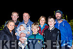 Supporters<br /> ---------------<br /> Causeway folk who welcomed home the new All Ireland ploughing champion in the village last Friday night were L-R Emer, Liam, Ria, Shane&amp;Joseph Harty, Fiona Walsh, Josh Diggins and Donal Walsh.