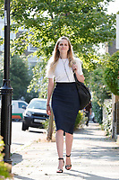 Cleo Watson at home of Dominic Cummings<br /> London, England on June 24, 2020.<br /> CAP/GOL<br /> ©GOL/Capital Pictures