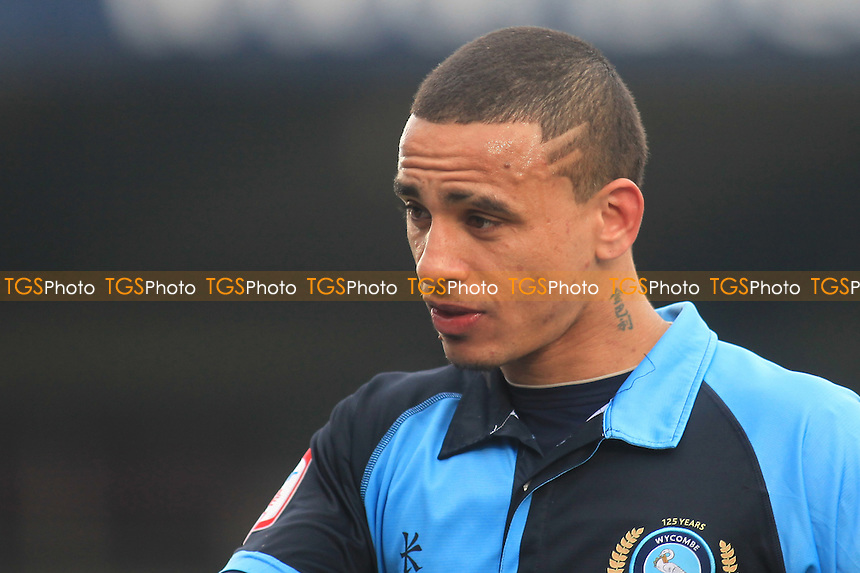 Wycombe's goalscorer, Dean Morgan - Wycombe Wanderers vs Southend United - NPower League Two Football at Adams Park, High Wycombe - 23/02/13 - MANDATORY CREDIT: Paul Dennis/TGSPHOTO - Self billing applies where appropriate - 0845 094 6026 - contact@tgsphoto.co.uk - NO UNPAID USE.