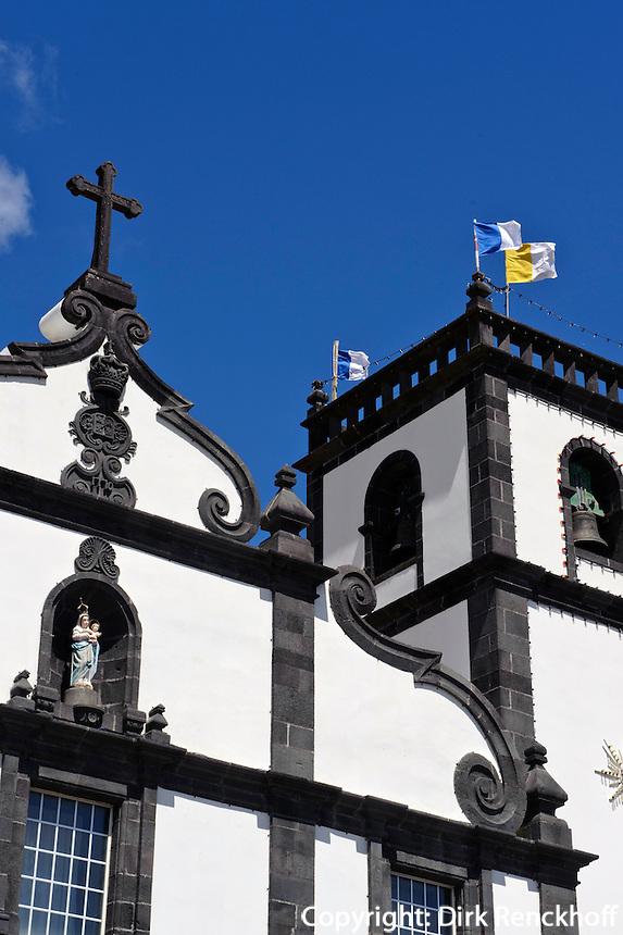 Kirche in Ajuda da Bretanha auf der Insel Sao Miguel, Azoren, Portugal