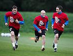 Jon Daly, Nicky Law and Nicky Clark