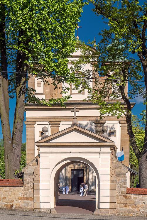 Kościół parafialny pw. Wniebowzięcia Najświętszej Marii Panny, Nowy Wiśnicz, Polska<br /> Church of the Assumption of the Blessed Virgin Mary, Nowy Wiśnicz, Poland