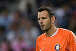 FC Internazionale Goalkeeper Samir Handanovic in action during the International Champions Cup match between FC Bayern and FC Internazionale at National Stadium on July 27, 2017 in Singapore. Photo by Weixiang Lim / Power Sport Images