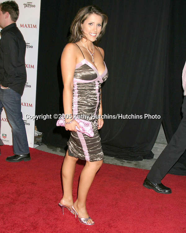 Choma_Kimberly.Maxim Hot 100 Party.Hollywood,  CA.May 12, 2005.©2005 Kathy Hutchins / Hutchins Photo