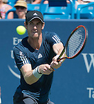 Andy Murray (GBR) defeats Joao Sousa (POR) 6-3, 6-3