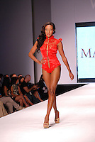 MaddSexy Lingerie-USA Model at Miami Beach International Fashion Week, Miami, FL - 2011