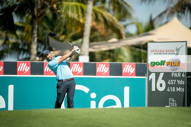 Thomas Aiken (RSA) during the 1st round of the AfrAsia Bank Mauritius Open, Four Seasons Golf Club Mauritius at Anahita, Beau Champ, Mauritius. 29/11/2018<br /> Picture: Golffile | Mark Sampson<br /> <br /> <br /> All photo usage must carry mandatory copyright credit (&copy; Golffile | Mark Sampson)