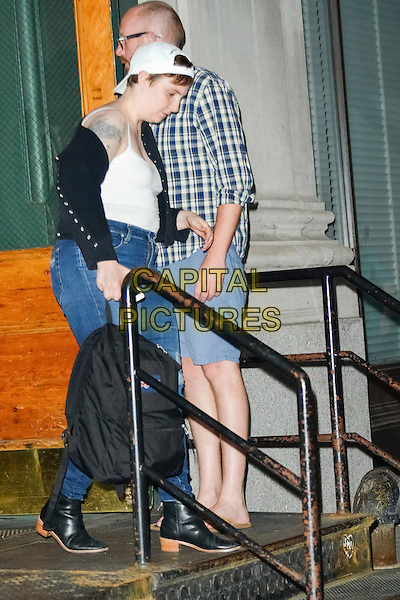 NEW YORK, NY - MAY 28: Lena Dunham and Jack Antonoff seen leaving Taylor Swift's apartment on May 28, 2015 in New York City. <br /> CAP/MPI67<br /> &copy;MPI67I/Capital Pictures