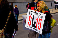 Fight for 15 Rally Chicago, Illinois 4-15-15