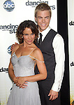 "Jennifer Grey and Derek Hough   at Dancing with the Stars ""Season 11 Premiere"" at CBS on September 20, 2010 in Los Angeles, California on September 20,2010                                                                               © 2010 Hollywood Press Agency"