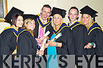 Mental Health Nursing graduates pictured at the ITT graduations in the Brandon Hotel on Friday, from left: Mary T. Foley (Cork), Karen O'Brien (Tralee), Liam Sheehy (Abbeydorney), Sharon McCarthy (Castlemaine), Shane Scanlon (Newcastle West) and Stephanie McCarthy (Milltown).