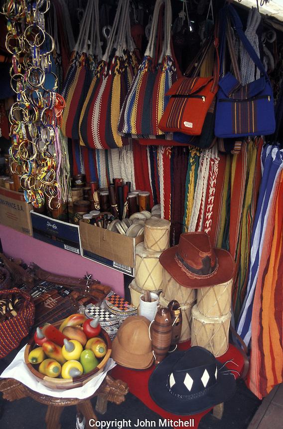 Nicaraguan crafts in the Mercado Viejo or National Handicrafts Market, Masaya, Nicaragua