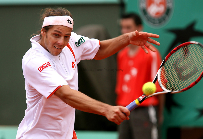 Photo: Iconsport/Richard Lane Photography..French Open, Roland Garros 2007. 31/05/2007..Gaston Gaudio