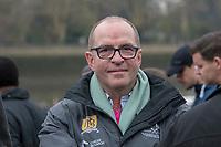 Greater London. United Kingdom, David SEARLE,  Executive Director. Boat Race Co. University Boat Races , Cambridge University vs Oxford University. Putney to Mortlake,  Championship Course, River Thames, London. <br /> <br /> Saturday  24/03/2018<br /> <br /> [Mandatory Credit  Intersport Images]