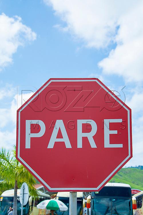 Placa de Pare, Aparecida - SP, 10/2016.