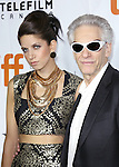 Cassandra Cronenberg and David Cronenberg attending the Red Carpet Arrivals for 'Maps To The Stars' at the Roy Thomson Hall during the 2014 Toronto International Film Festival on September 9, 2014 in Toronto, Canada.
