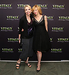 Julie Halston and Maddie Corman attends the Off-Broadway Opening Night arrivals for 'Vitaly: An Evening of Wonders' at the Westside Theatre on June 20, 2018 in New York City.