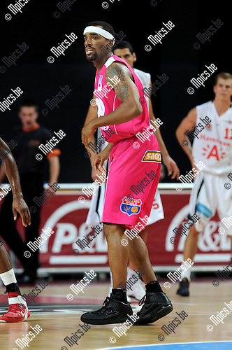 2011-10-25 / Basketbal / seizoen 2011-2012 / Antwerp Giants - Pepinster / Bingo Merriex..Foto: Mpics