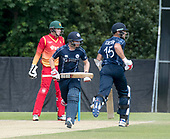 Cricket Scotland - Scotland V Zimbabwe One Day International match at Grange CC today (Thur) - this match is the second of two ODI matches this week against Zimbabwe, and Scotland won the first encounter, on Thursday, by 26 runs - Scotland Cross and Coetzer make runs - picture by Donald MacLeod - 17.06.2017 - 07702 319 738 - clanmacleod@btinternet.com - www.donald-macleod.com