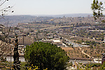 View From Mount Scopus of The Old City & Mosque